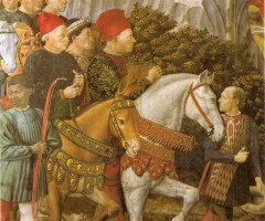 Detail of Cosimo and Piero