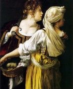 Judith & Maidservant, Pitti palace